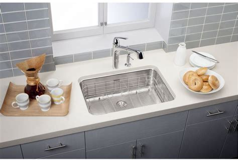 elkay sinks kitchen faucet eluh2416pd in stainless steel by elkay 3558