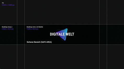 youtube kanalbild template  digitalewelt digitale welt