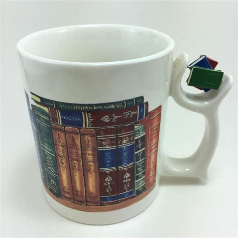 As there was no place on the application to explain why i want work in a bookstore (and perhaps there should be!), i just. Barnes & Noble Cafe Spinner Mug Cup Classic Books Tolkien Austen Shakespeare #BarnesNobleCafe ...