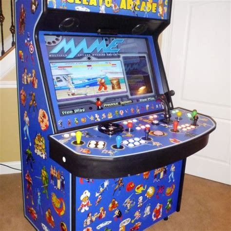 mame arcade 4 player with special controllers arcades