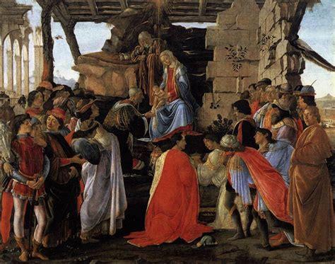 Cuadros De Sandro Botticelli. Renacimiento Del Siglo Xv