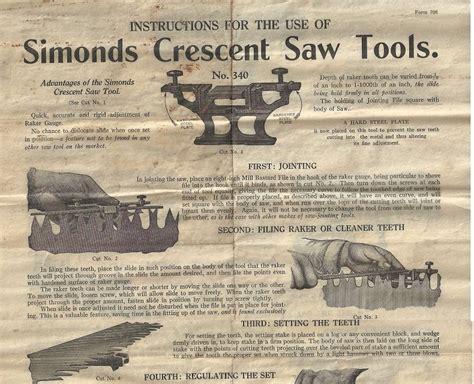 simonds crescent  tools timetestedtools