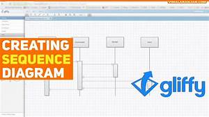 Creating Sequence Diagram Using Gliffy  Online