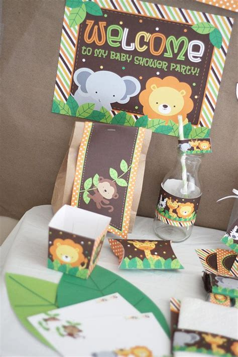 baby shower safari decorations 17 best ideas about jungle baby showers on