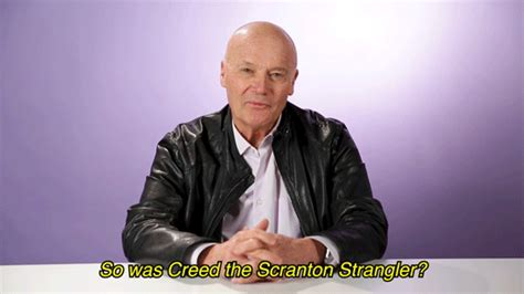 Creed Bratton Spilled Some Major Tea On