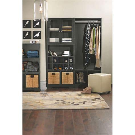 organizing kitchen appliances home decorators collection baxter black storage furniture 1263