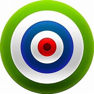 Green Target / Target Dart / 128px / Icon Gallery