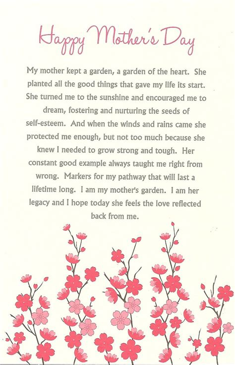 mothers day poem best mothers day poems