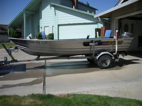 Aluminum Fishing Boats For Sale In California by Aluminum Fishing Boat California Manteca 4500 Boat