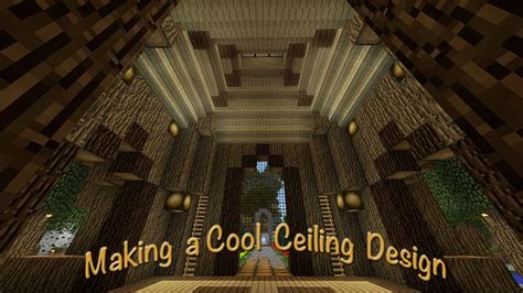 minecraft     intricate ceiling design   tree house youtube