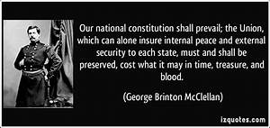 Our national constitution shall prevail; the Union, which ...