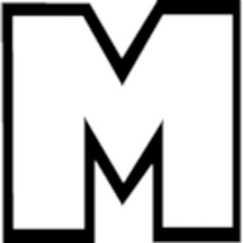 big letter m free letter m outline free clip free clip 20607 | 8ixrxGXeT