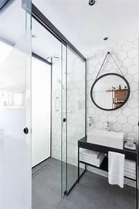 comment choisir la plus belle porte vitree With porte de douche coulissante avec étagère salle de bain fer forgé