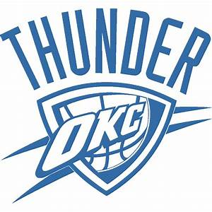 stickers nouveautes nba oklahoma city thunder okc art With kitchen colors with white cabinets with custom transparent stickers