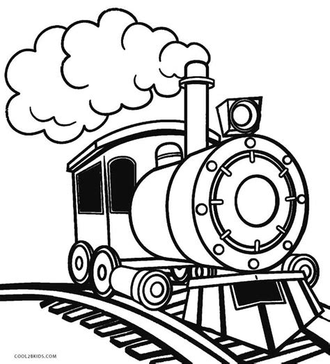 christmas thomas trains free printable train coloring pages for kids cool2bkids