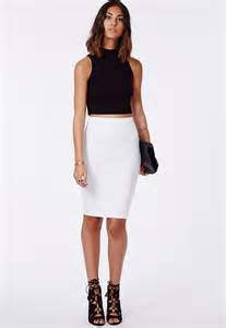 ear cuffs uk scuba midi skirt skirts pencil skirts missguided