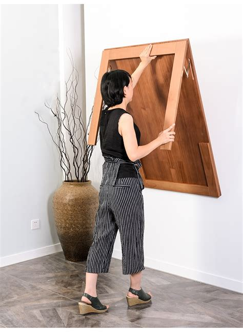 wall hanging folding table invisible expansion table