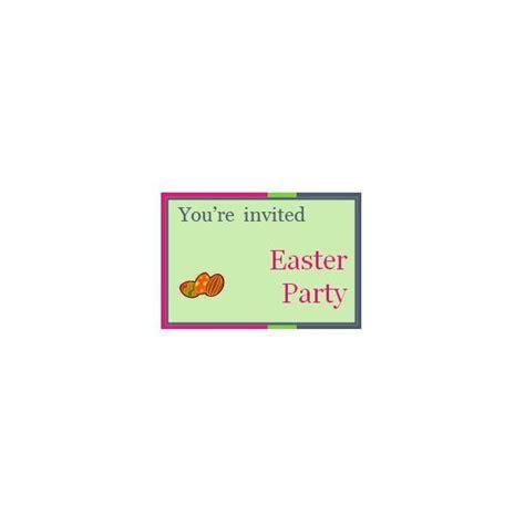 easter invitation templates    print