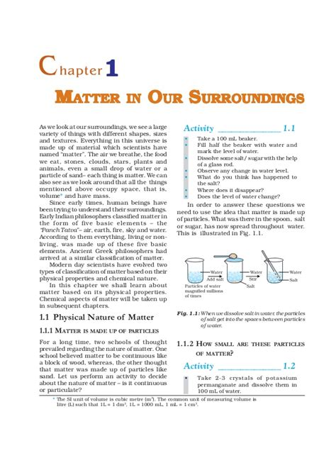 worksheets for matter in our surroundings 9 matter in our surroundings