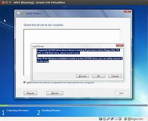 windows 7 - installing win7 x64 in VirtualBox - error ...