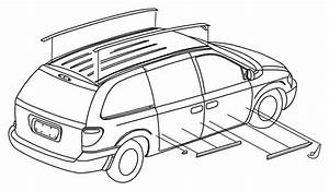 Chrysler Town  U0026 Country Molding  Roof  Left  Moldings