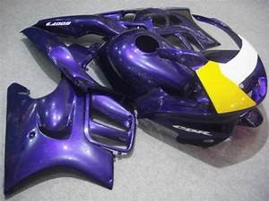 Custom Fairing Kit For Honda Cbr600f3 97 98 Cbr600 F3 Cbr 600f3 1997 1998 Cbr 600 Abs Purple