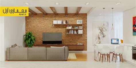 استفاده از آجر در طراحی داخلی فضای مسکونی