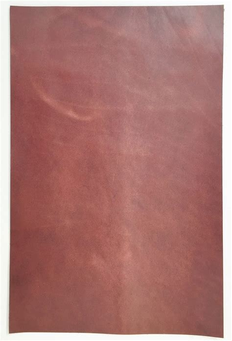 Cowhide Pieces by Chestnut Leather Pieces Cowhide 340mmx 220mm L4c011