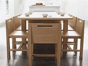 Table De Cuisine En Bois : cuisine am nag e design rendez vous par thibault desombre ~ Teatrodelosmanantiales.com Idées de Décoration