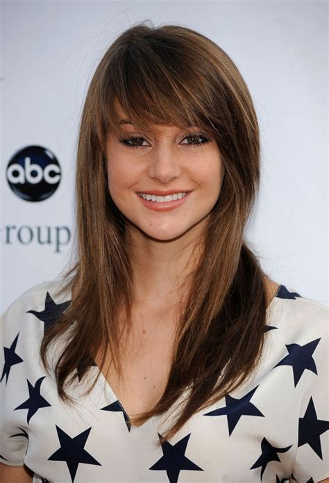 side swept bangs for a square face hairstyles