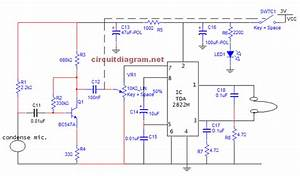 Small Sound Amplifier For Ears  Hearing Aid  Schematic