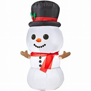Gemmy Inflatable Airblown-Baby Snowman Outdoor Christmas