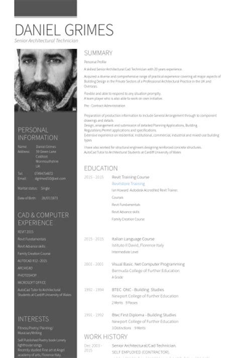 Senior Architect Resume Samples  Visualcv Resume Samples