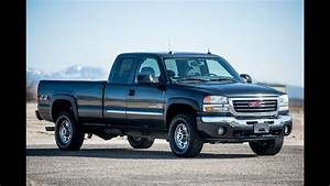 2004 Gmc Sierra 2500hd Ext  Cab Duramax 4x4   Stock   0503