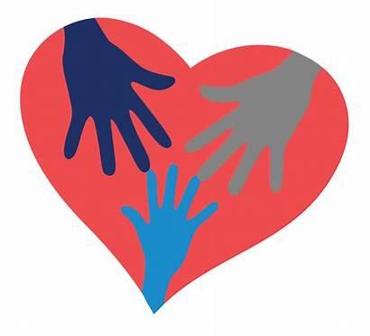 Heart Hands Inside Volunteer V2 Team Volunteering