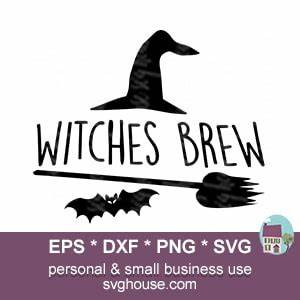 Brother Scan And Cut Design Software Witches Brew Svg File Instant Download For Silhouette And