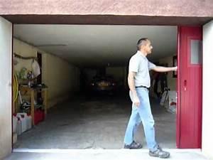 porte de garage coulissante laterale aluminium sib 65 With porte de garage de plus porte coulissante intégrée