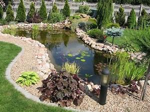 Jardin Avec Bassin : faire un bassin de jardin 30 id es fantastiques emprunter ~ Melissatoandfro.com Idées de Décoration