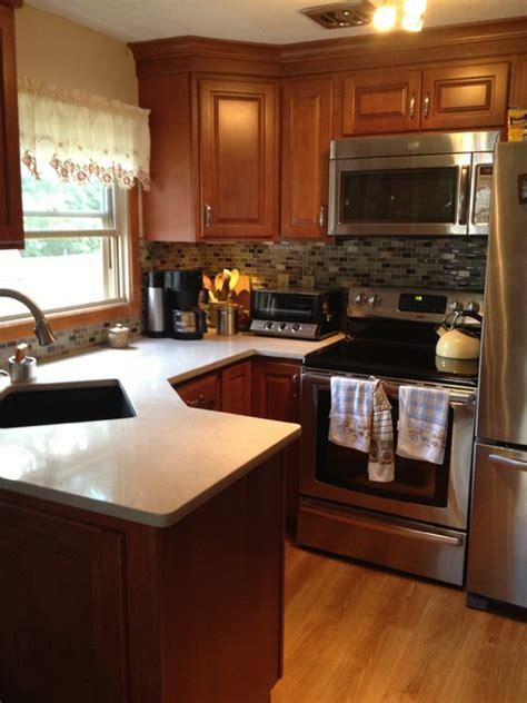 cabinets allen and roth quartz countertop