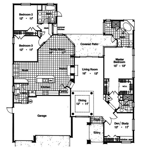 marco mesa southwestern home plan 047d 0207 house plans