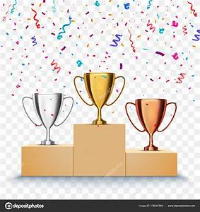 Winner, Background, First, Second, And, Third, Place, Of
