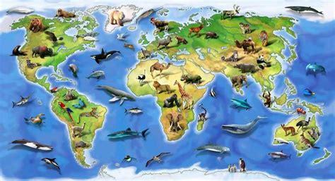mapa animales mundo wwwbuscatelascom wwwfacebookcom