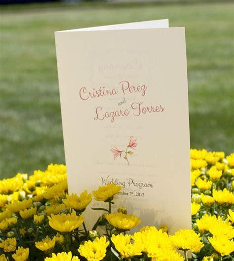 stationery wedding programs  images wedding