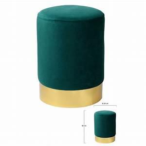 Pouf  30 Cm  Valentina Verde - Divani  U0026 Poltrone