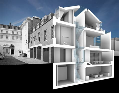 architectural homes doone silver architects belgravia mews house
