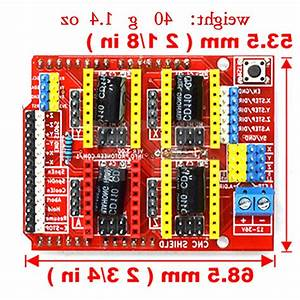 A4988 Driver Cnc Shield Expansion Board For Arduino