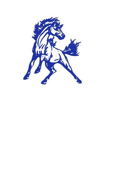 mustang horse logo mustang mascot logo cliparts co