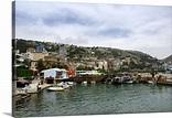 Albania, Sarande, Albanian port city located on the Ionian ...
