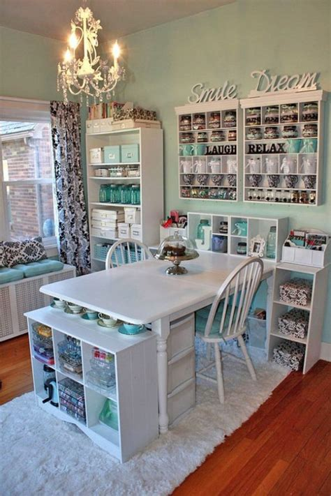 organizing your craft room on a budget vintage paint 40 ideas to organize your craft room in the best way