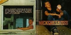 Encartes Pop: Encarte: Nick Carter - Now or Never